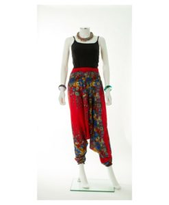 flowered pants