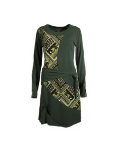 tribal funk dress