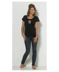 aztec tshirt black