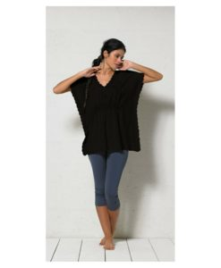 hippy tunic black