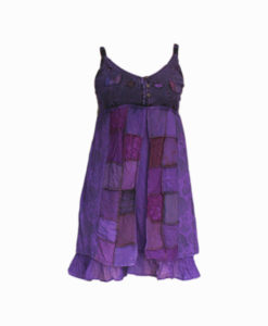 Handmade-Gypsy-Boho-Dress-Purple